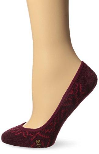 Pendleton Merino Wolle Liner Socken, damen, Sunset Cross - Maroon (Damen Maroon Socken)