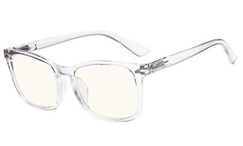 Eyekepper Stilvolles UV Schutz Brille Computer Brille Brillen für Frauen (Transparent, 0,00)