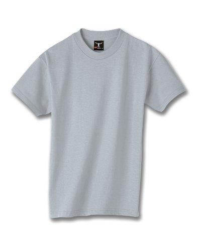 hanes-beefy-t-maglietta-da-ragazzo-light-steel-l