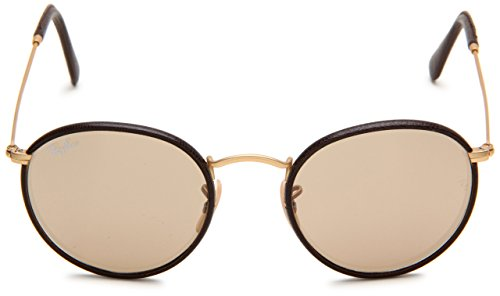 Ray-Ban homme 112/53 50 Montures de lunettes, Marron (Matte Arista/Brown Leather/Crystal Brown)