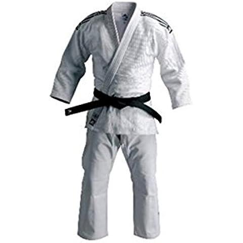 Noris Judo - Kimono de artes marciales y lucha para hombre, talla 1.20 cm, color blanco