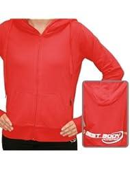 Best Body Nutrition Woman Zip Hoody Rot