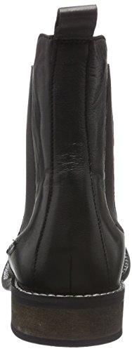 Pepe Jeans Damen Seymour Chelsea Boots Schwarz (Black 999)