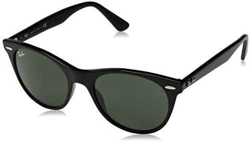 Ray-Ban Unisex-Erwachsene 0RB2185 Sonnenbrille, Braun (Black), 52.0