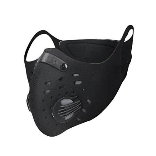 XINTOWN Carbón Activado Máscara Anti-Polvo Anti-Viento Cómodo Ajustable para Ciclismo Cinco Colores para Elegir