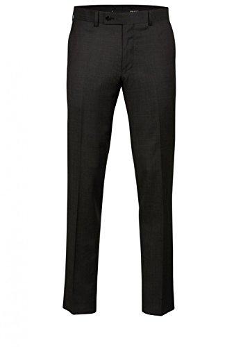 Daniel Hechter - Regular Fit - Herren Baukasten Hose aus reiner Schurwolle in verschiedenen Farben, meliert (H 5642-7994), Größe:52;Farbe:Anthrazit (80) (Italienischer Merino-wolle Anzug)
