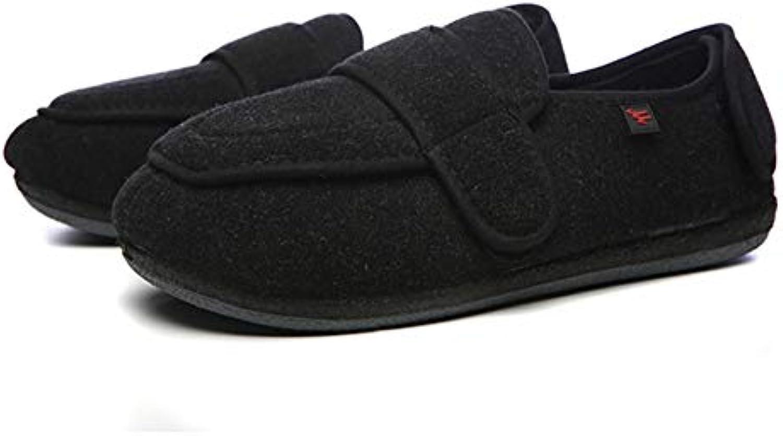 Willsky Calzature per diabetici Uomo, Memory Foam Pantofole per diabetici Allargamento Regolabile Velcro Comodo... | Ha una lunga reputazione  | Uomini/Donne Scarpa