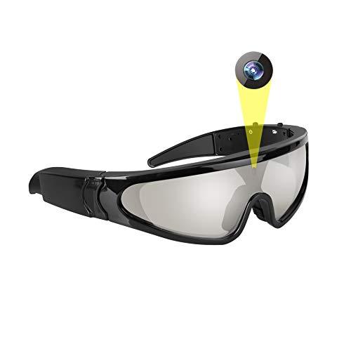 JAYLONG Smart Sun Glasses, 1080P HD Recording/Video/Camera/Photo mit 5 Milion-Pixels für Radfahren, Jagen, Angeln, Reisen und Parkour Sport
