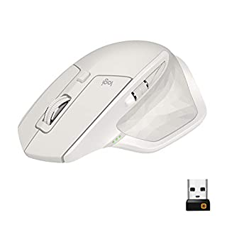 Logitech MX Master 2S, Wireless Bluetooth Mouse for Mac and
