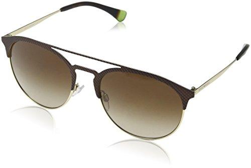 Emporio Armani Damen 0ea2052 Sonnenbrille, Braun (Mt Dark Brown/Pale Gold), 56