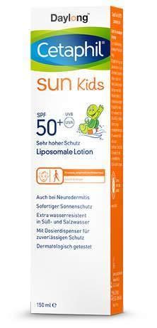 Cetaphil Sun Daylong Kids SPF 50+ Liposomale Lotion, 150 ml