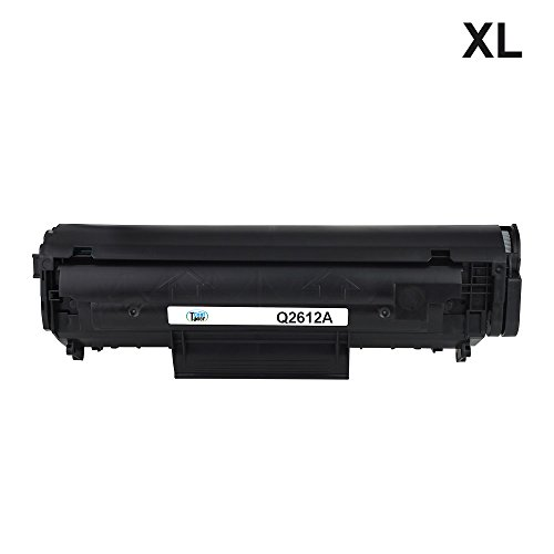 Preisvergleich Produktbild Cool Toner XL JUMBO kompatibel toner fuer Q2612A FX10 kompatibel toner fuer HP LaserJet 1010 1012 1015 1018 1020 1022 3015 3020 3030 3050 3050Z 3052 3055 M1005MFP M1319MFP, schwarz,3000 Seiten, Q2612A