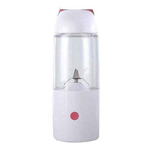 CXHMYC Exprimidor 400 ml Botella Exprimidor USB Batido Recargable Licuadora Batidora Fruta Cítrica...
