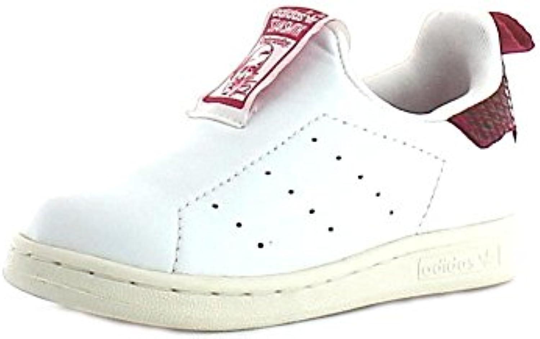Adidas   Adidas Stan Smith 360 I Kinder Sportschuhe Slip On Leder Weiss