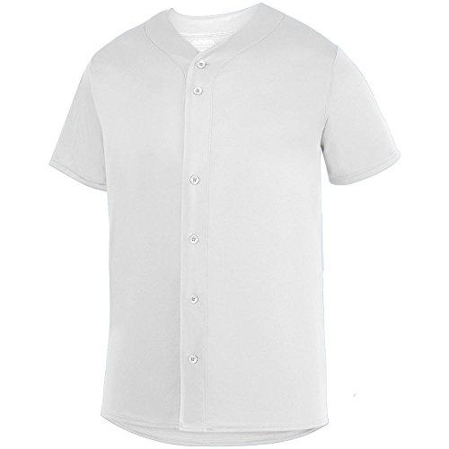 Augusta Sportswear Boys Sultan Jersey S White (T-shirt Augusta Jersey)