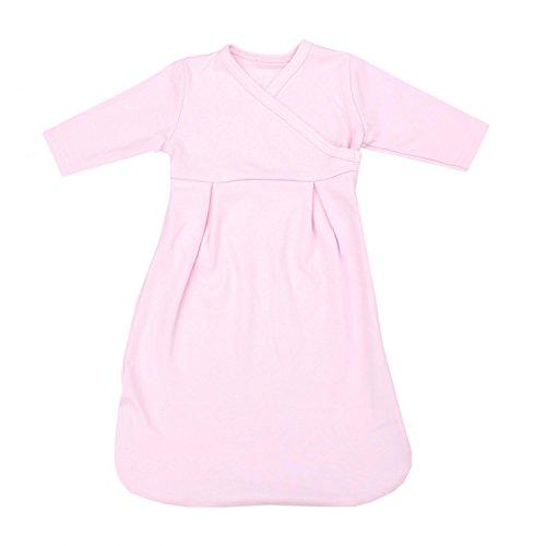TupTam Baby Unisex Langarm Innenschlafsack, Farbe: Rosa, Größe: 50/56
