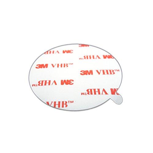 3M 4950 VHB doppelseitiges Klebeband Montage Klebestreifen Klebepads Durchmesser 50mm 10 Stück