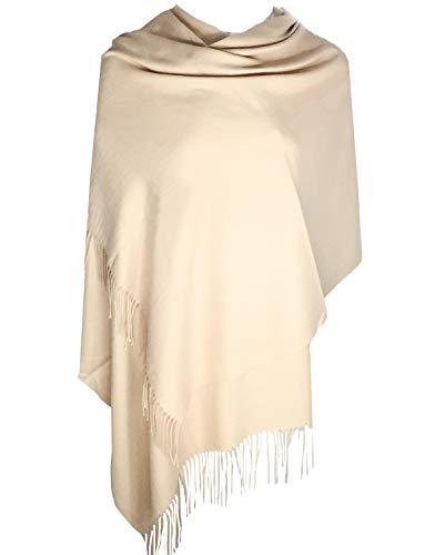 TFENG Damen Schal, 19 Farben Frauen Weich Elegant Stola Schal Tuch, übergroßer Deckenschal Herbstschal Winterschal -