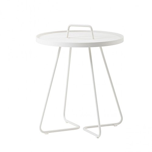 On The Move de table d'appoint Petit Modèle Blanc de cane-Line