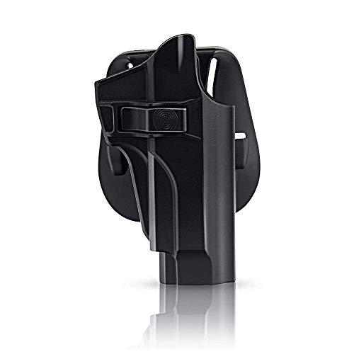 efluky Holster Ceinture Airsoft Pistolet Defense Gun Holster for Beretta 92 92FS M9 M9A1 M9-22, Paddle