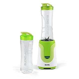 Breville Blend Active Personal Blender, 300 W, 50Hz-White/Green, plastic,