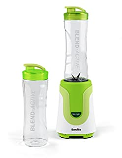 Breville Blend Active Personal Blender, 300 W, 50Hz-White/Green, plastic, (B00DGLUW4E) | Amazon Products