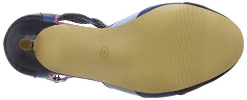 Joe Browns - Elegantly Vintage Shoes, Scarpe col tacco Donna Blue (Blue)