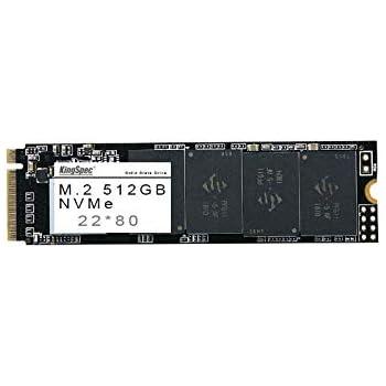 KingSpec 512 GB NVMe 22 * 80 SSD NAND - PCI-E Gen.3x4: Amazon.es ...