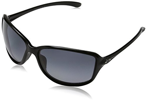 Oakley Damen Sonnenbrille Cohort Schwarz (Polished Black/Greygradientpolarized), 62