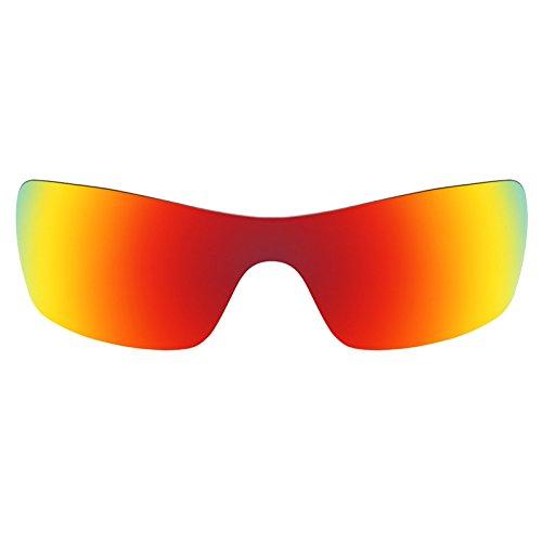 Revant Schutzglas für Oakley Batwolf Feuerrot MirrorShield®