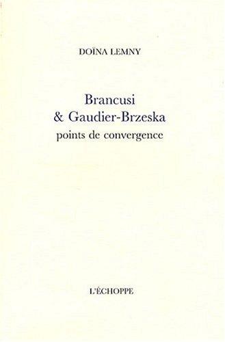 Brancusi et Gaudier-Brzeska : Points de convergence