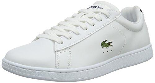 Lacoste Damen Carnaby BL 1 Sneakers, Weiß (Wht 001), 37.5 EU