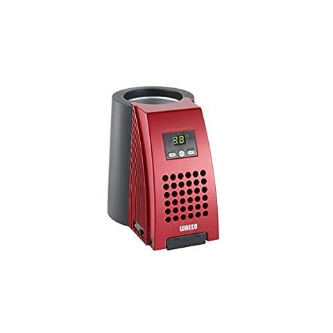 WAECO MyFridge MF-1F thermo-elektrischer Wein-Kühler, Getränke-Kühler für eine Wein-Flasche, Betrieb per Akku oder Netzanschluss, Mini-Kühlschrank für alle