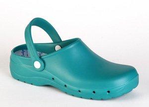 Feliz Caminar - Zueco Sanitario Flotantes Verde