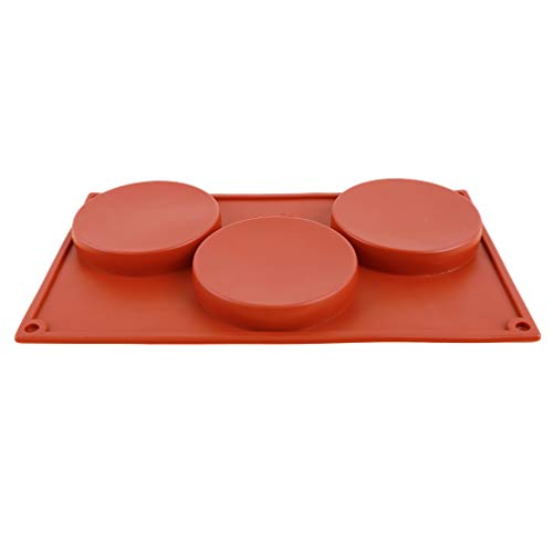 HYhy Cup Cake Chocolate Mold Mini Muffin Silicone Round Soap Cookies Cupcake Bakeware Pan Tray Mould Mini-muffin-pan-cookies