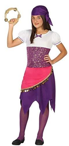 r Mädchen, Piraten-Zirkus-Kostüm, Violett, 3-12 Jahre ()