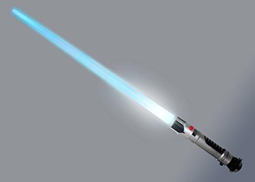 """Star Wars: """"The Clone Wars/La Guerra de los Clónes"""" Espada de lúz láser """"Obi-Wan Kenobi"""""""
