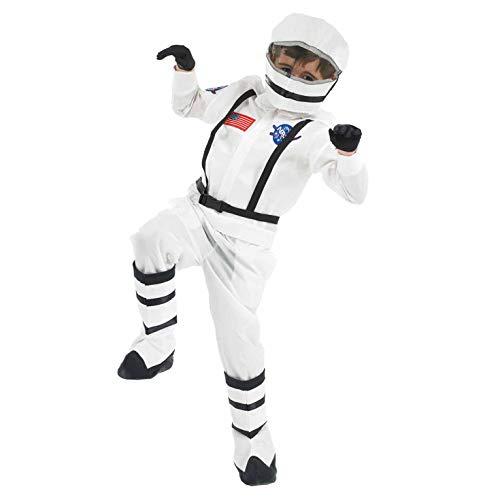 ostüm, Unisex Children, Astronaut, Größe S ()