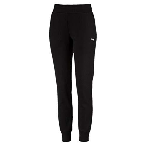Puma Damen ESS Sweat Pants TR cl Hose Cotton Black-Cat M
