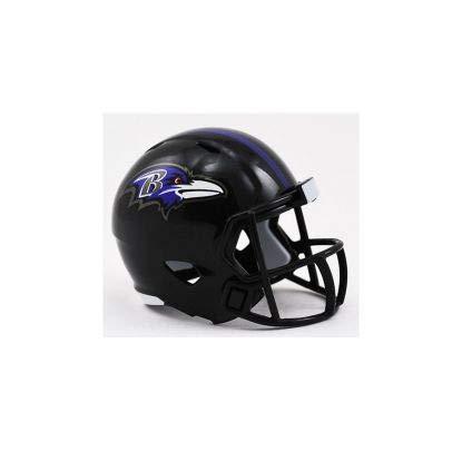 Riddell Mini-Footballhelm, NFL-Design: Baltimore Ravens, Taschengröße