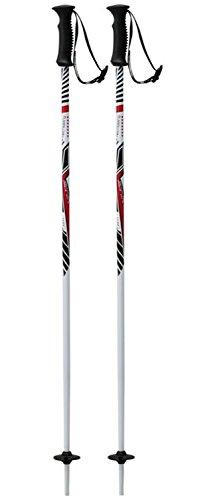 Tecno Pro Kinder Ski-Stock Skistock XT CARVE Jr weiß / rot / schwarz, Länge:090