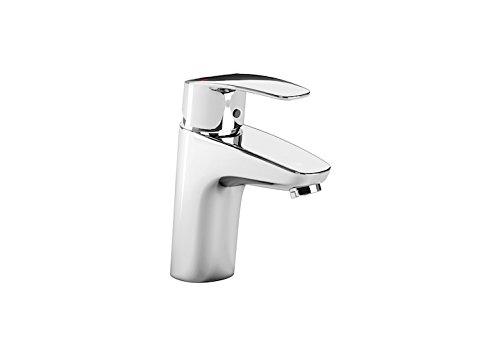 Roca A5A3298C00 – Mezclador monomando para lavabo con cuerpo liso, cold start