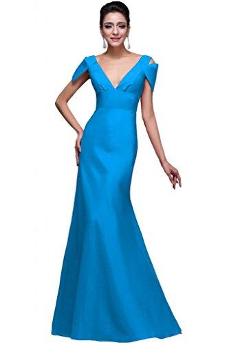 Sunvary collo a V, con fondina, per abiti da sera Pageant Blue