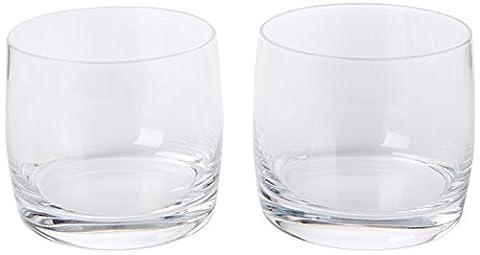 Ravenhead Finesse Lot de 2verres pour 40cl Capacité–Idéal pour l'eau, mélangeurs à cocktails et courtes, transparent