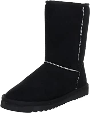 ESPRIT Uma Basic Bootie K13050, Damen Fashion Stiefel, Schwarz (black 001), EU 36