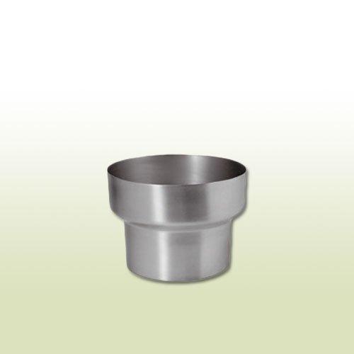 Dachrinne Adapter (Zink Reduzierung von DN 100 auf DN 80)