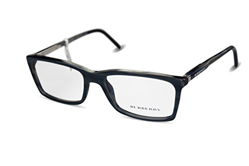 BURBERRY Brillengestell Brille Damen B 2139 col.3401 grau-blau meliert
