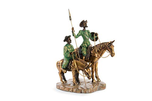 Item Figure QUIJOTE Aged 10 * 15 * 25cms Approximately