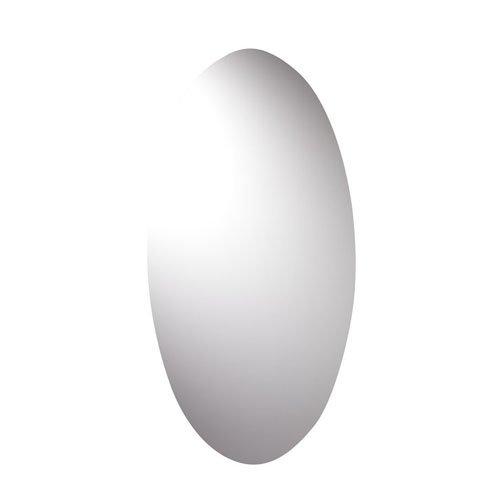 Croydex - Espejo ovalado (90 x 45 cm)
