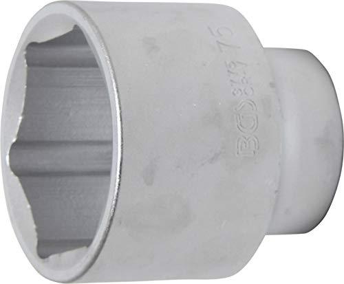 "BGS 3775 | Steckschlüssel-Einsatz Sechskant | 25 mm (1\"") | SW 75 mm"